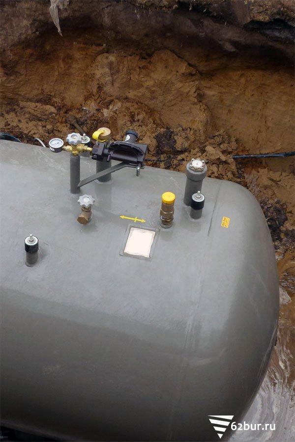 Арматура высокого давления газгольдера
