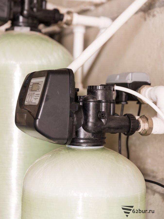 Автоматический клапан системы умягчения воды производства США
