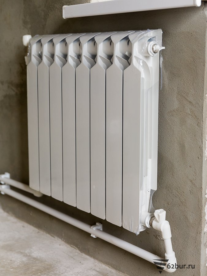 Автономное отопление алюминиевыми радиаторами