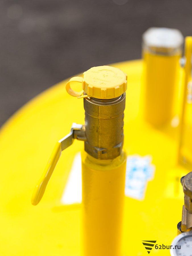 Газгольдер Deltagaz заправочный клапан
