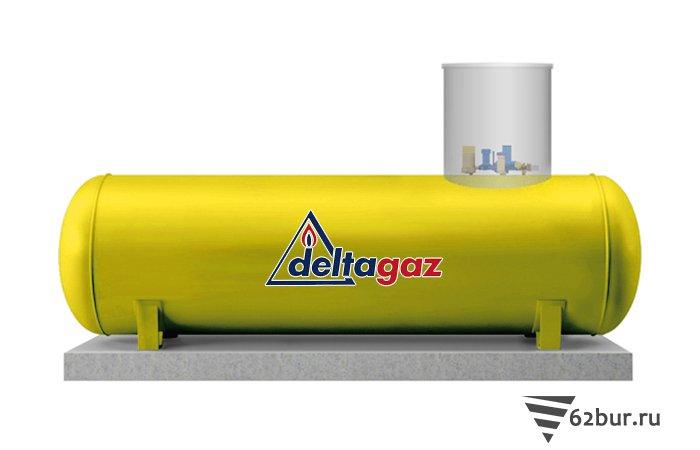 Газгольдер Deltagaz