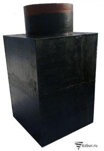 Кессон стальной квадратный