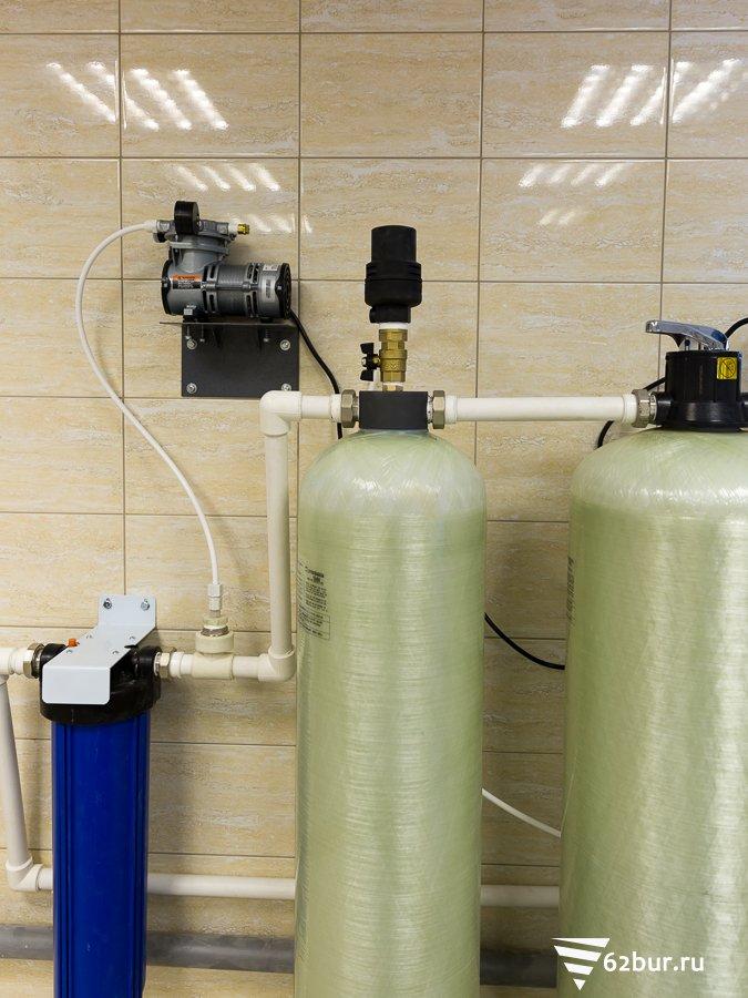 Колонна аэрации системы водоподготовки