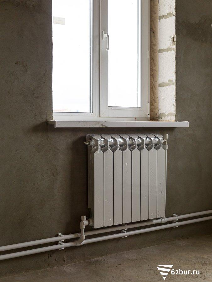 Радиатор системы автономного отопления