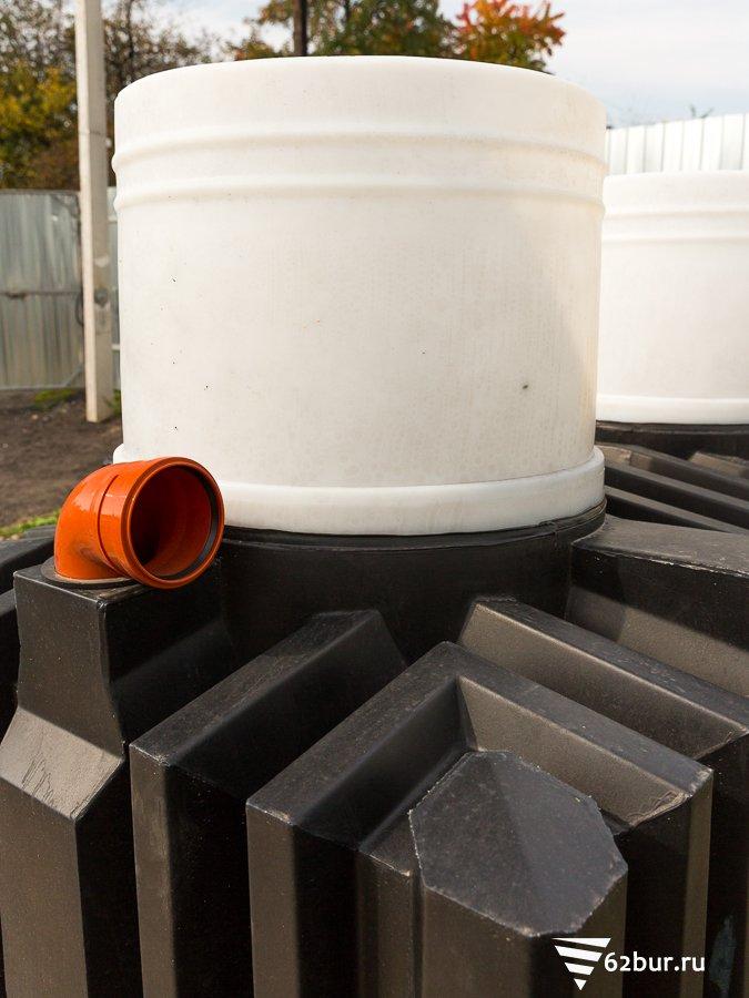 Септик Танк 2,5 входной отвод