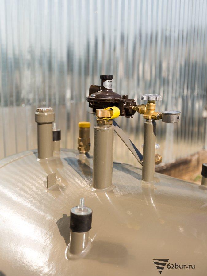 Заправочный клапан газгольдера VPS